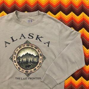 Other - Alaska The Last Frontier Crewneck Sweatshirt Small